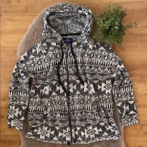 ‼️ American Eagle Aztec Print Zip-Up Sweater ‼️